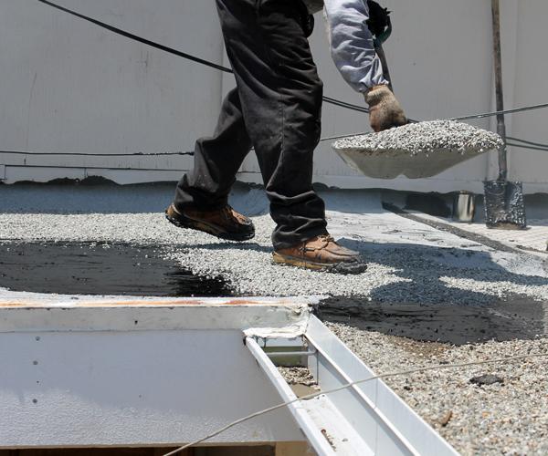 Reparação, isolamento e impermeabilização de coberturas